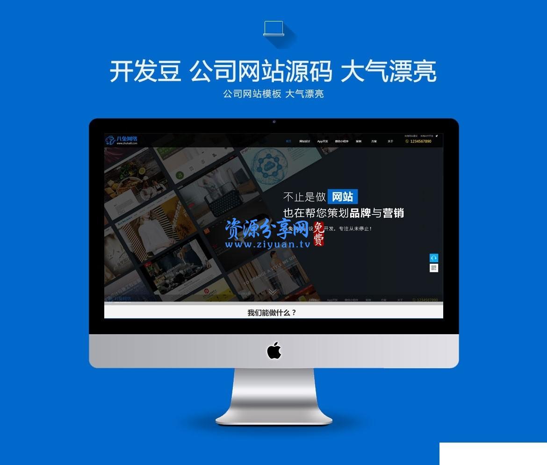 网站建设企业模板 帝国 cms 内核