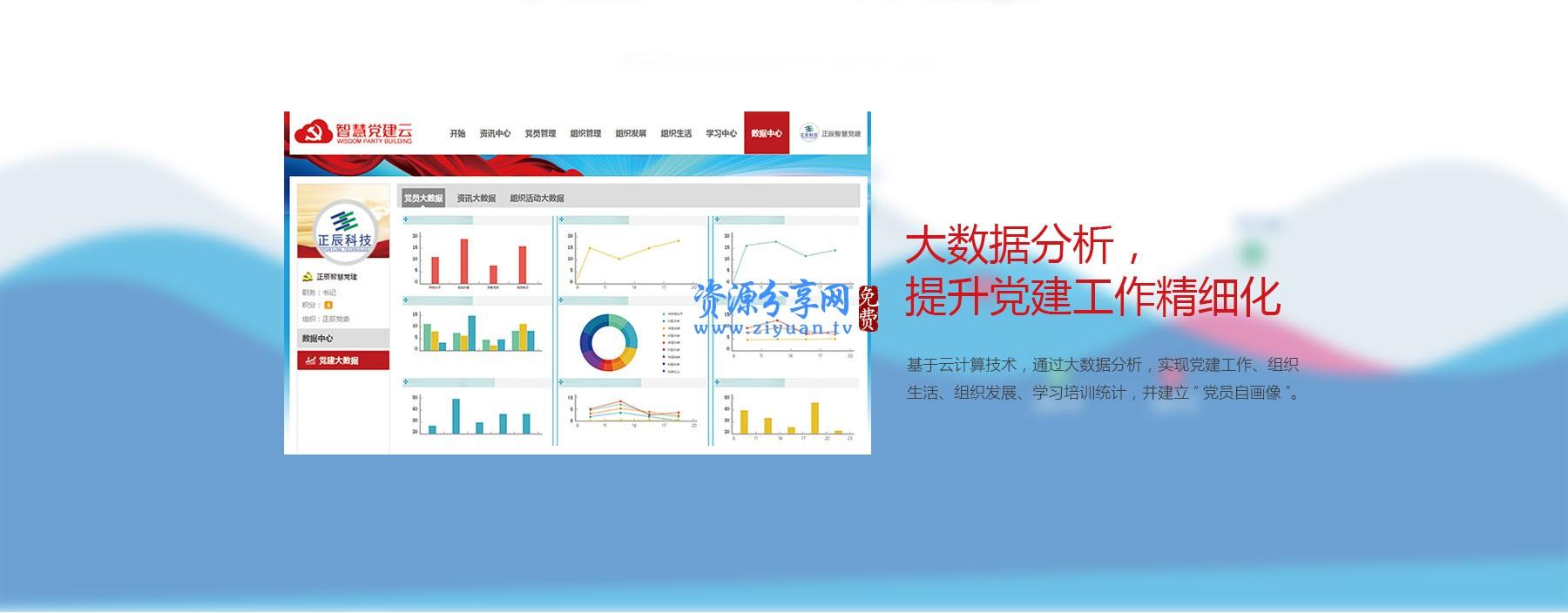 智慧党建云平台 V2.4.4