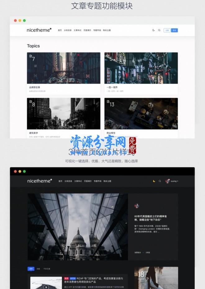 Emlog 系统博客的主题模板 PandaPRO 主题