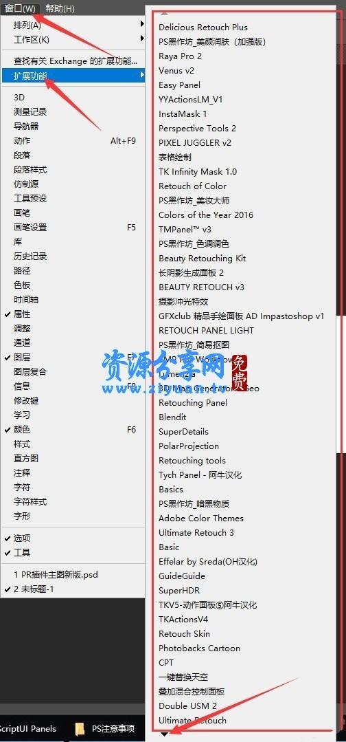 PS 全套插件一键安装包 Pro 无需注册码-photoshop
