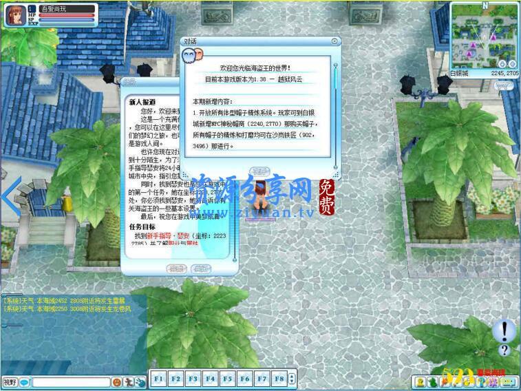 海盗王端游 1.38 版+单机一键服务端+配套客户端+登录器+启动说明+视频教程