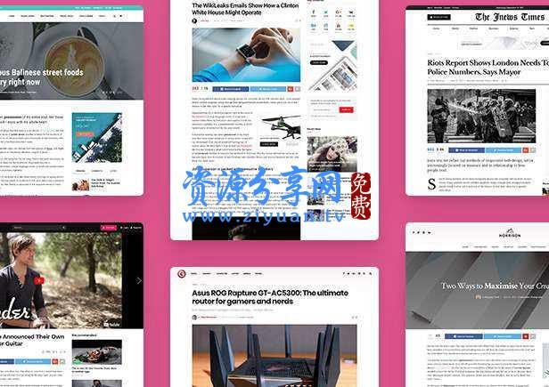 JNews 新闻杂志主题 v7.1.3 WordPress 主题+暗模式支持+古登堡编辑器支持